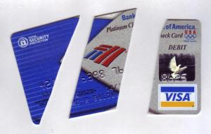 Sliced Debit Card